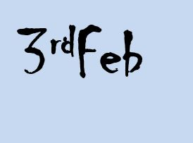 3rd feb
